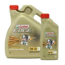 Castrol EDGE 5W-30 LL Advanced Full Synthetic Petrol & Diesel Engine Oil 5W30