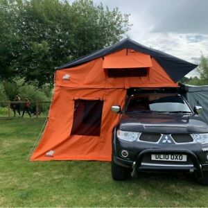 Ox overland 310 Roof Tent with Detachable Annex - Orange