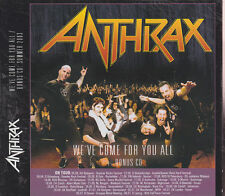 "ANTHRAX ""We've Come For You All"" 2CD"
