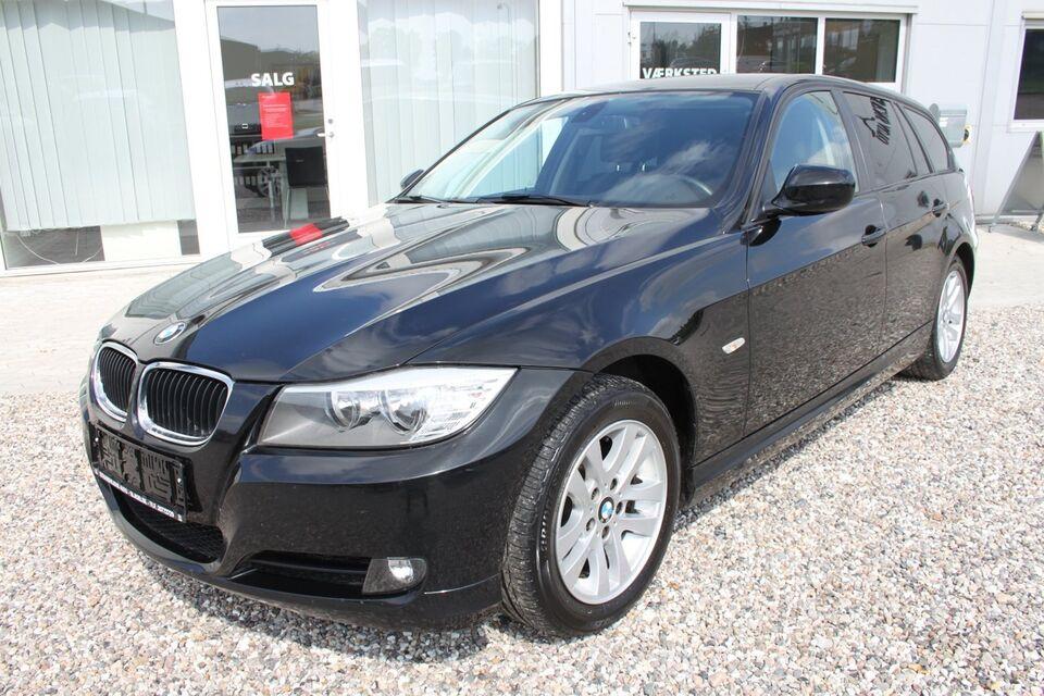 BMW 316d 2,0 Touring Diesel modelår 2011 km 127000 Sort ABS