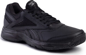 Reebok-Men-Shoes-Walking-Work-N-Cushion-4-0-Black-Slip-Oil-Resistant-FU7355-New