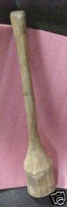 Vintage-Mashing-tool-wine-stomping-musher-Wood-masher