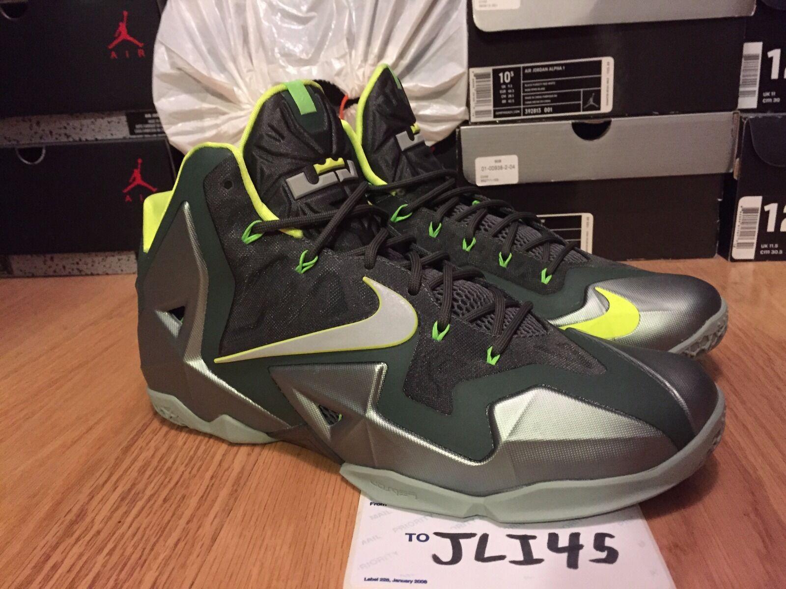 Men's Nike Lebron 11 XI Dunkman Size 11 Shoes Sneakers New DS Air Jordan