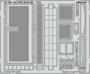 Eduard-Accessories-36436-1-35-9A37M2-BUK-M2-for-Panda-Neu