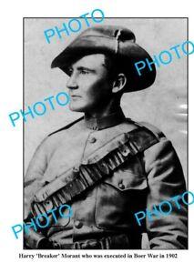 OLD-6-x-4-PHOTO-AUSTRALIAN-BOER-WAR-ICON-BREAKER-MORANT-c1902