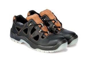 neu arbeitssandale ppo 52 s1 src schuhe sandale arbeitsschuhe mit stahlkappe ebay. Black Bedroom Furniture Sets. Home Design Ideas