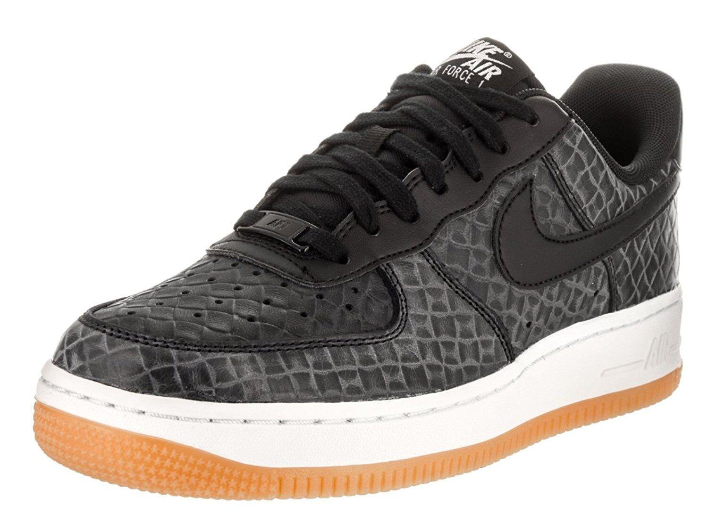 des nike air force 1 '07 pmr chaussure de de de basket, 616725 009 tailles 6 - 10 noir / gu 394018