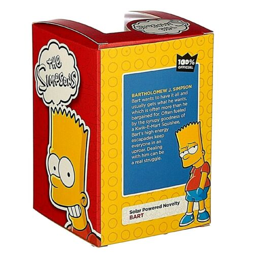 The Simpsons Solar Pal Dancing Figures Licensed Product Light Activated NEW