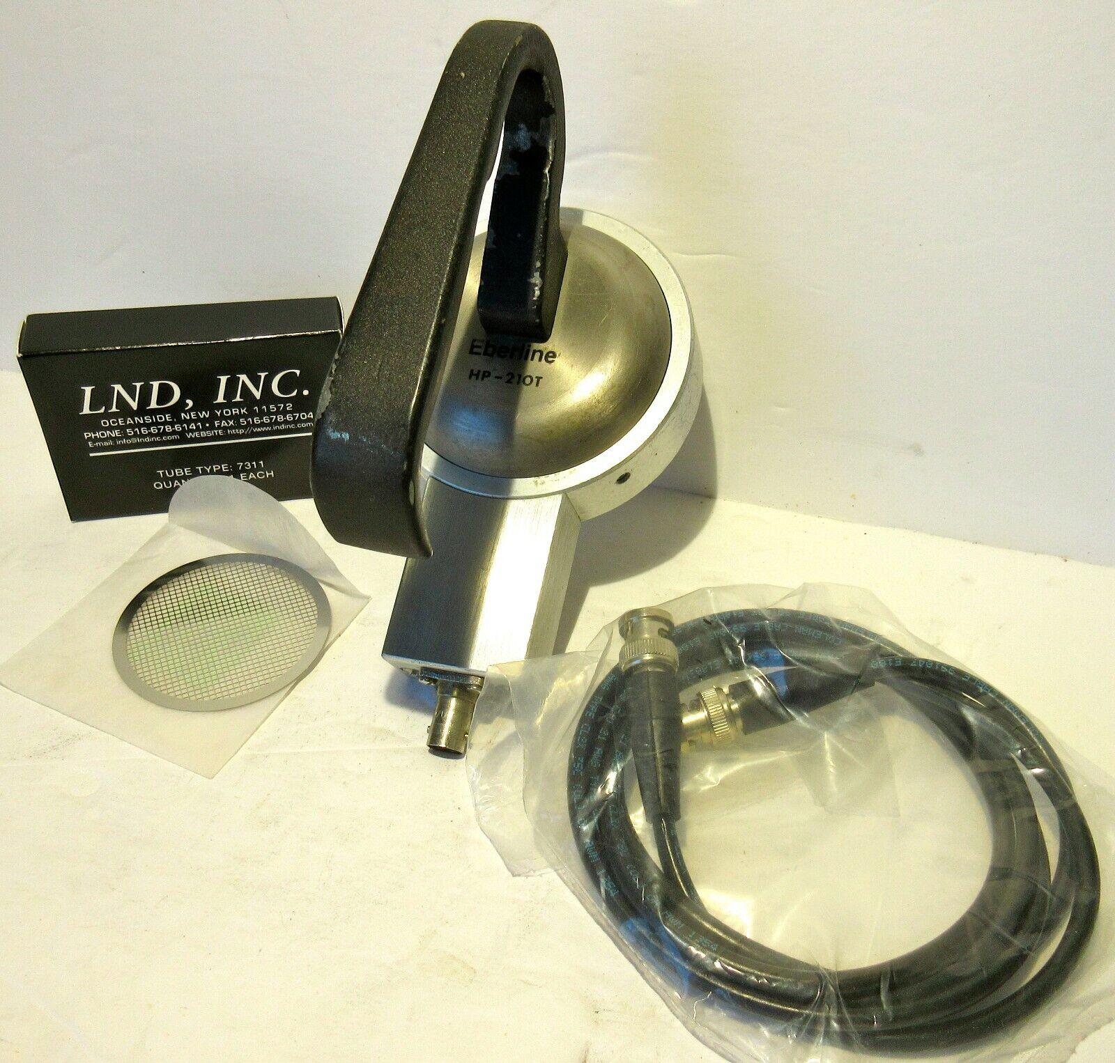 s l1600 - Eberline HP-210 shielded probe and accessories
