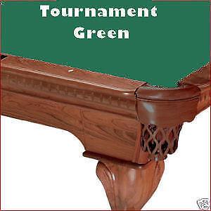 8' Pro Oversized Tournament Green ProLine TEFLON Billiard Pool Table Cloth Felt
