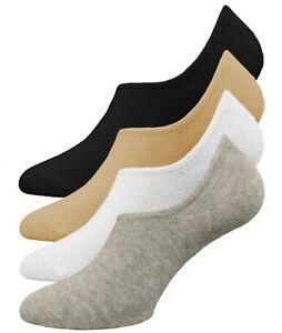 buy popular e5cfc 61074 Details zu Füßlinge Damen 8 Paar - 95% Baumwolle Gr 35-39 - 4 Farben MIX -  Ballerina Socken