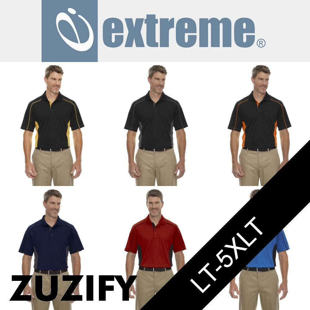 Extreme Eperformance Fuse Mens Tall Snag Pro Plus Polo Shirt. 85113T