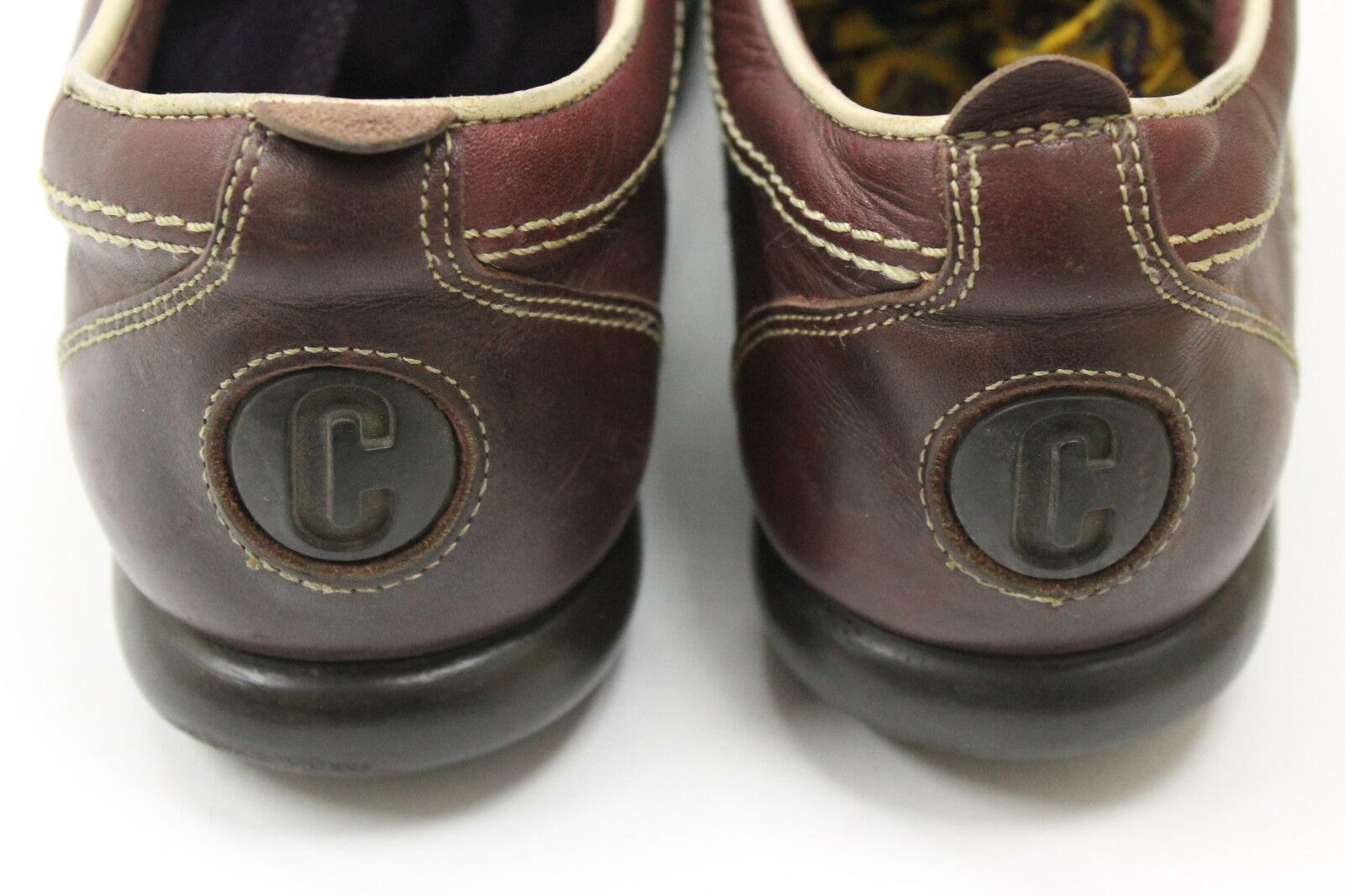 Camper mujer zapatos zapatos zapatos talla 7.5 Europa 38 de cuero rojo S7425 7e25e7