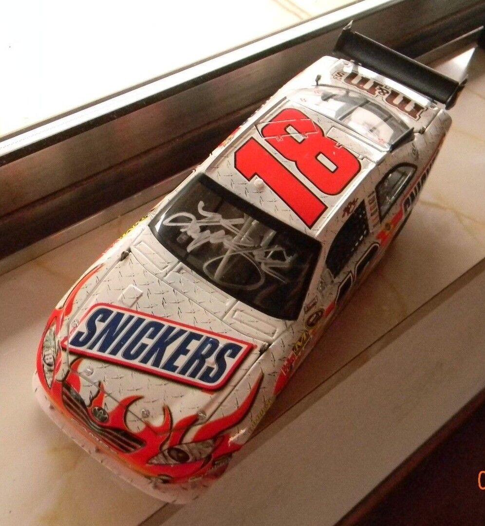 Kyle Busch 1 24 Auto Getekend 2008 Snickers COT