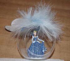 Disney Store Cinderella Plume Bauble Christmas tree decoration Disneyland Paris