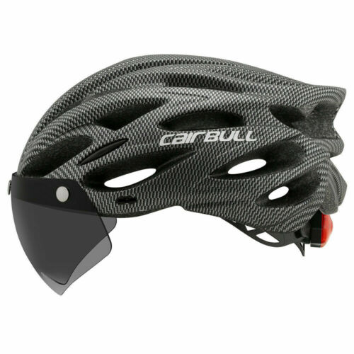 CAIRBULL Fahrradhelm MTB Mountain Road Fahrradhelm Objektiv und Krempe Rücklicht