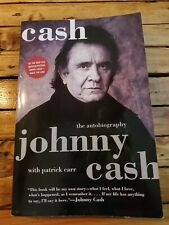Cash : The Autobiography by Johnny Cash (2003, Trade Paperback)