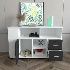 Mobile File Cabinet Lock Sliding Office Vertical Filing With 2 Drawers Door Modern