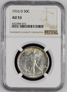 Half-Dollars-Liberty-Walking-1916-D-NGC-AU-53