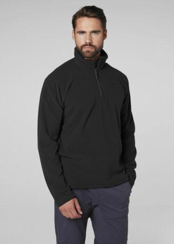 Helly Hansen Daybreaker Men/'s Polartec 100 Half Zip Fleece 50844//990 Black NEW