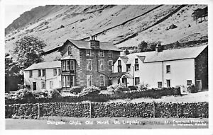 GREAT-LANGDALE-AMBLESIDE-CUMBRIA-ENGLAND-DUNGEON-GHYLL-OLD-HOTEL-PHOTO-POSTCARD