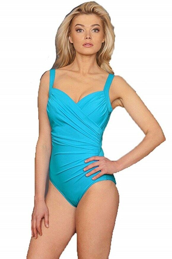 MIRACLESUIT THE BREAKERS SANIBEL Tummy Control One-piece Slimming Swimsuit New