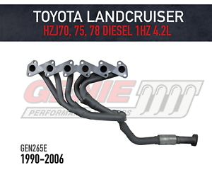 Genie-Headers-Extractors-to-suit-Toyota-Landcruiser-70-Series-Ute-amp-Troopy-1HZ