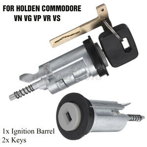 Metal-Ignition-Barrel-w-2-Keys-For-Holden-Commodore-VN-VG-VP-VR-VS-1988-2000