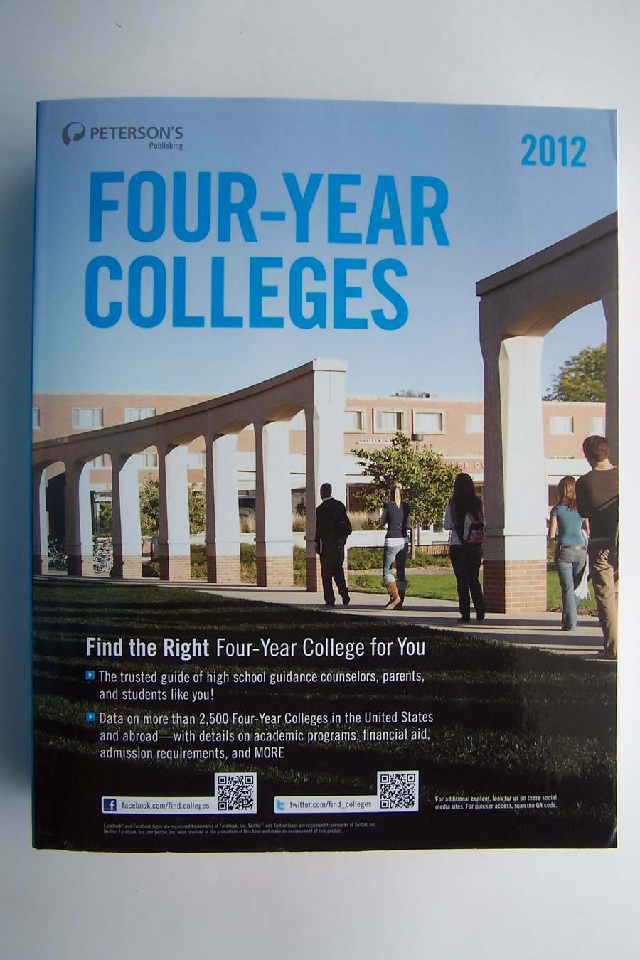 Peterson's Four-Year Colleges Paperback