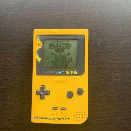 Game Boy Light Pokemon Center Confirmed operation