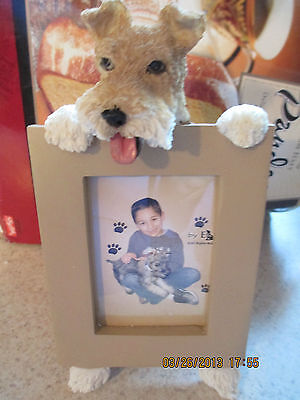 wire fox terrier    picture frame 15-56