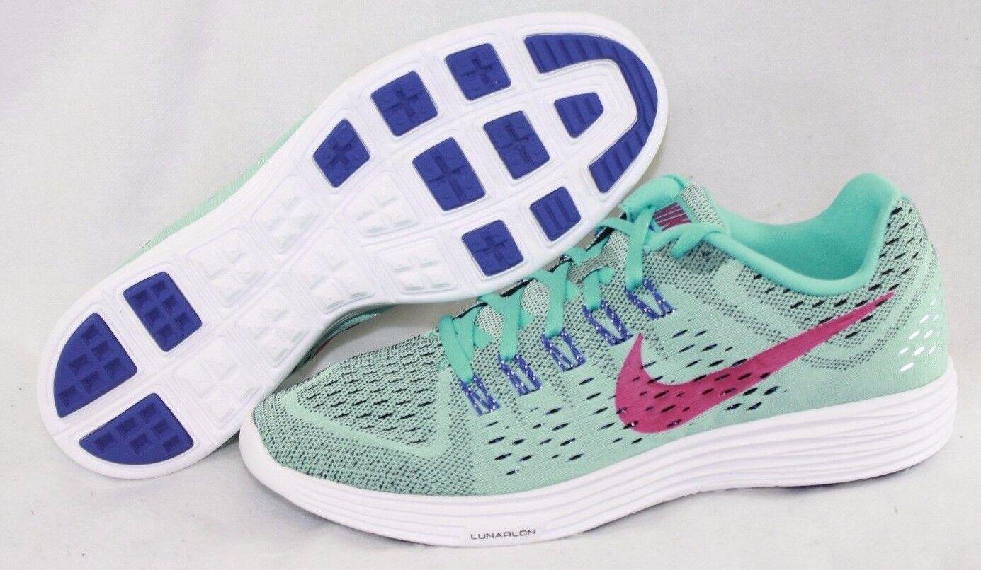 NEW Womens NIKE Lunartempo 705462 401 Light Aqua Purple Running Sneakers shoes