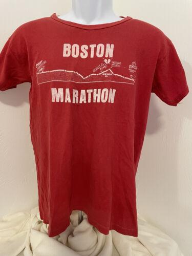 VTG 1970's Boston Marathon T-Shirt Russell Athleti