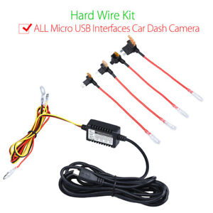 universal micro usb hard wire fuse 4 piggy back kit 12v to 5v rh ebay com iPhone USB Charger iPhone USB Charger Circuit