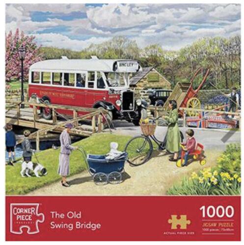 THE OLD SWING BRIDGE 1000 PIECE JIGSAW PUZZLE LOCKDOWN PRESENT GIFT SCENERY
