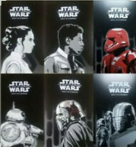 Exclusive 6 Star Wars Posters The Rise Of Skywalker Official Odeon Posters Ebay