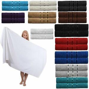2x-toallas-de-bano-100-algodon-egipcio-de-lujo-Grande-Suave-Toallas-Bale-Reino-Unido-Stock