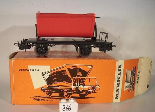 Märklin h0 4513 vagoneta en rojo box 60er JH #366