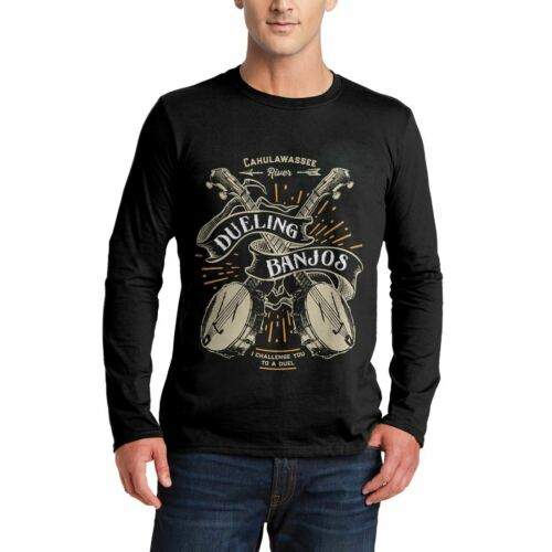 Dueling Banjos Horror T-Shirt Cahulawassee River Can Duel Deliverance I C D116LS