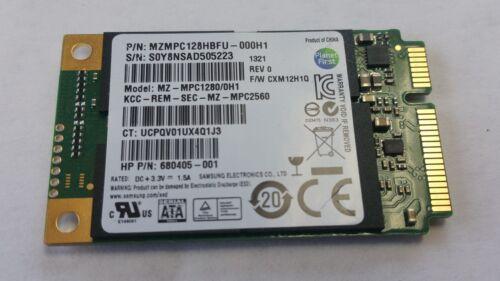 Samsung 128GB mSATA SSD Solid State Drive MZ-MPC1280//0KN TESTED