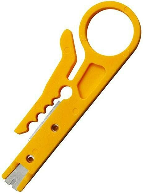 Mini Cable Stripper Spinner Cat5 punch tool
