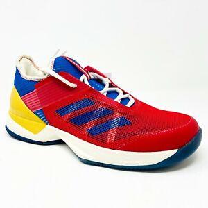 Adidas-Adizero-Ubersonic-3-Pharrell-Williams-Red-Blue-S81005-Womens-Tennis-Shoes