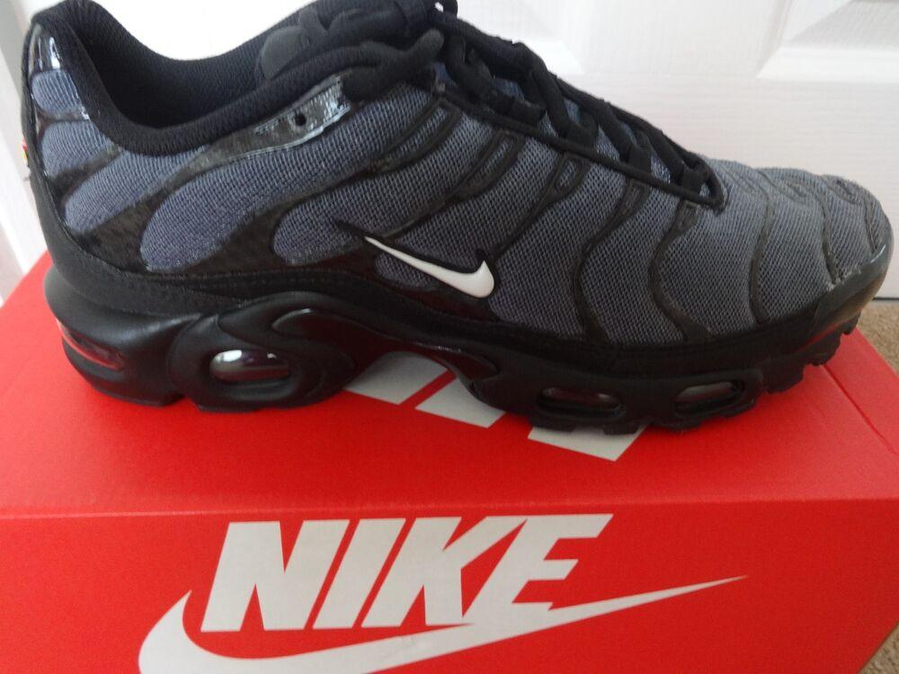Nike air max plus txt baskets baskets 647315 019 uk 6.5 eu 40.5 us 7.5 neuf + boîte-