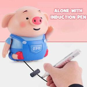 Kreatives-induktives-Spielzeug-Schwein-mit-magischem-NEU-Toy-Stift-Weihna-V4M