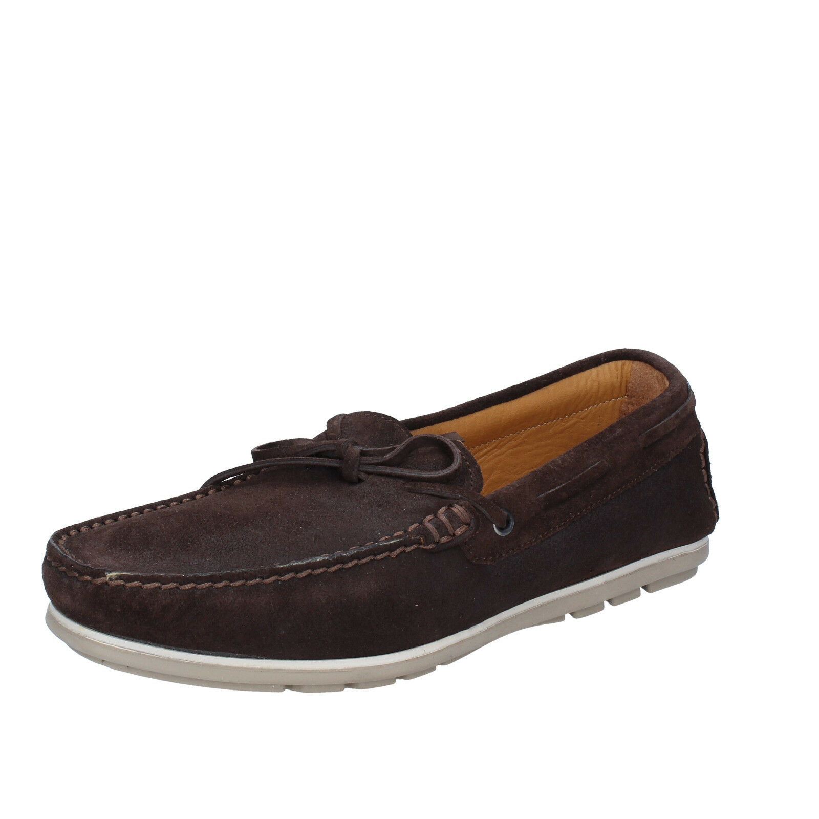 Men's shoes K852 & SON 7 () loafers brown suede BT920-40