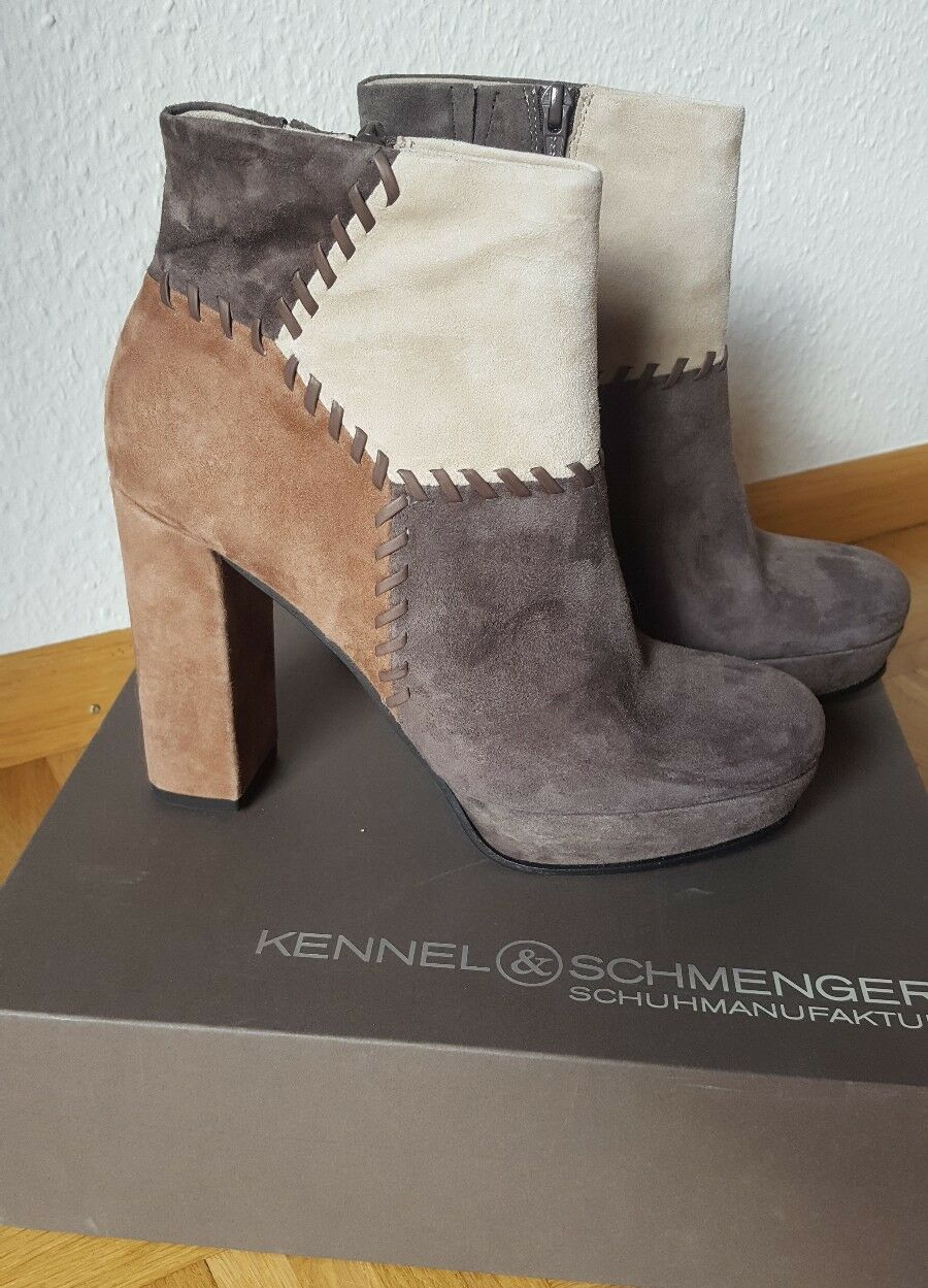 Kennel & Schmenger Stiefeletten NEU 39 K+S 6 Pumps Plateau Schuhe K+S 39 Amina 825c1e
