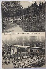 15570 AK Zittau Militär Schieß Stand 3. Infanterie Regiment Nr. 102 1916