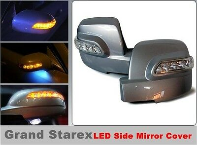 LED Light Side Mirror Cover(1 way)for Hyundai i800 iMAX H1/Grand Starex(2011-on)