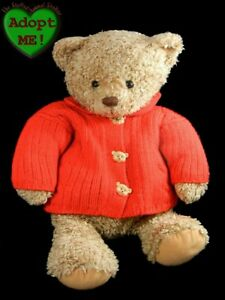 hallmark stuffed plush beanie christmas winter teddy bear. Black Bedroom Furniture Sets. Home Design Ideas