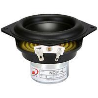 Dayton Audio Nd91-4 3-1/2 Aluminum Cone Full-range Driver 4